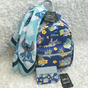 NWT Loungefly Stitch Mini Backpack Bundle